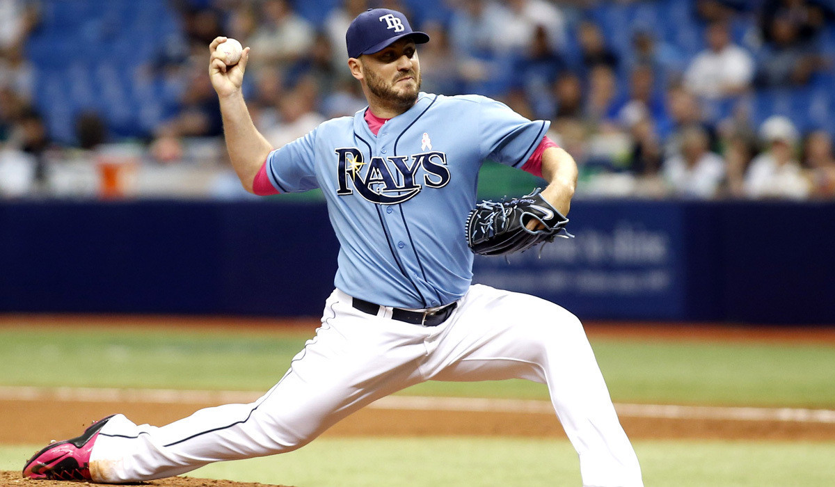 la sp an rays reliever kevin jepsen not exactly homecoming king in anaheim 20150601