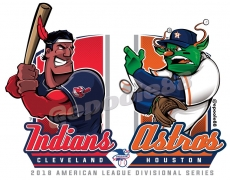 Postseason 2018. ALDS. Houston Astros @ Cleveland Indians. Game 3
