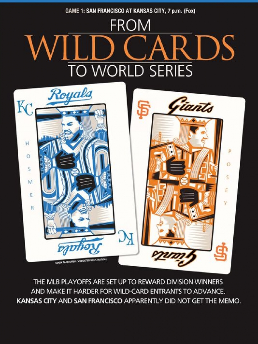 World Series 2014. San Francisco Giants @ Kansas City Royals. Game 1