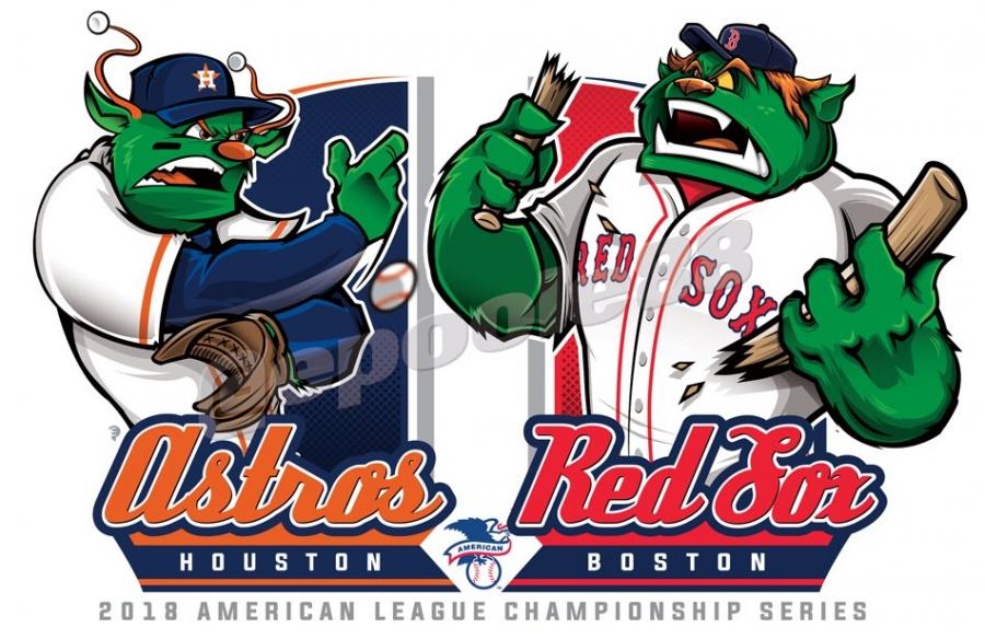 Postseason 2018. ALCS. Boston Red Sox @ Houston Astros. Game 5