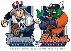 Postseason 2019. ALCS. New York Yankees @ Houston Astros. Game 6