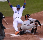 Postseason 2014. ALCS. Baltimore Orioles @ Kansas City Royals. Game 4