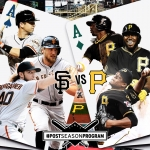 Postseason 2014. NLWC. San Francisco Giants @ Pittsburgh Pirates
