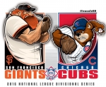 Postseason 2016. NLDS. San Francisco Giants @ Chicago Cubs. Game 2
