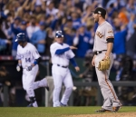 World Series 2014. San Francisco Giants @ Kansas City Royals. Game 2