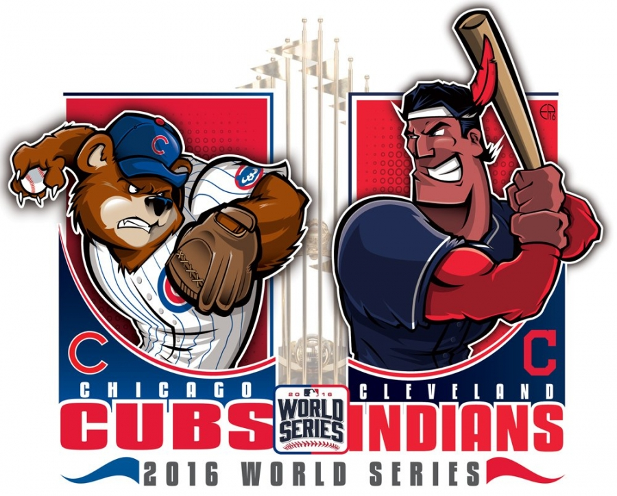 World Series 2016. Cleveland Indians at Chicago Cubs. Game 3