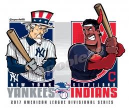 Postseason 2017. ALDS. New York Yankees @ Cleveland Indians. Game 5