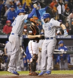 Postseason 2014. ALCS. Kansas City Royals @ Baltimore Orioles. Game 1