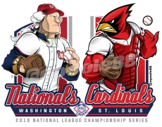 Postseason 2019. NLCS. St. Louis Cardinals @ Washington Nationals. Game 4