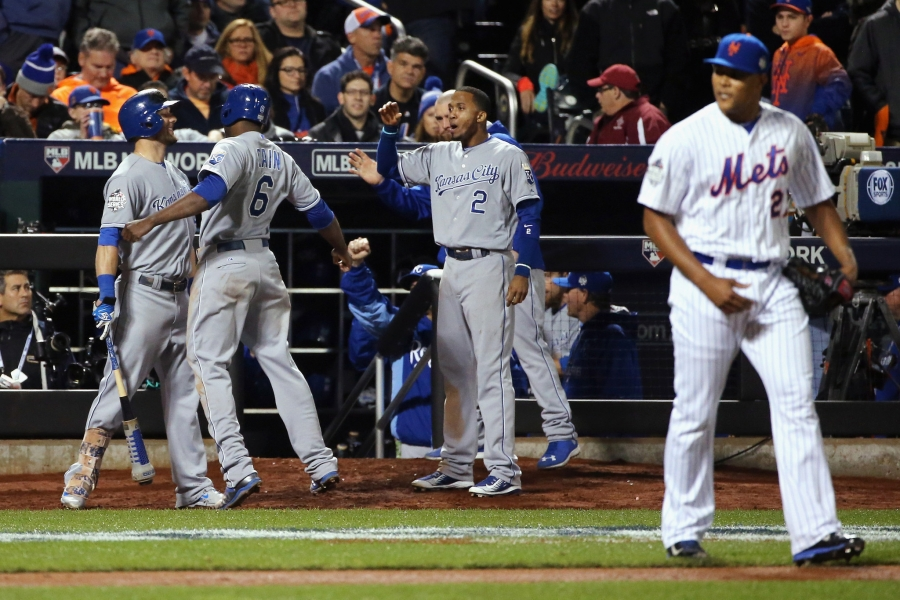 World Series 2015. Kansas City Royals @ New York Mets. Game 4
