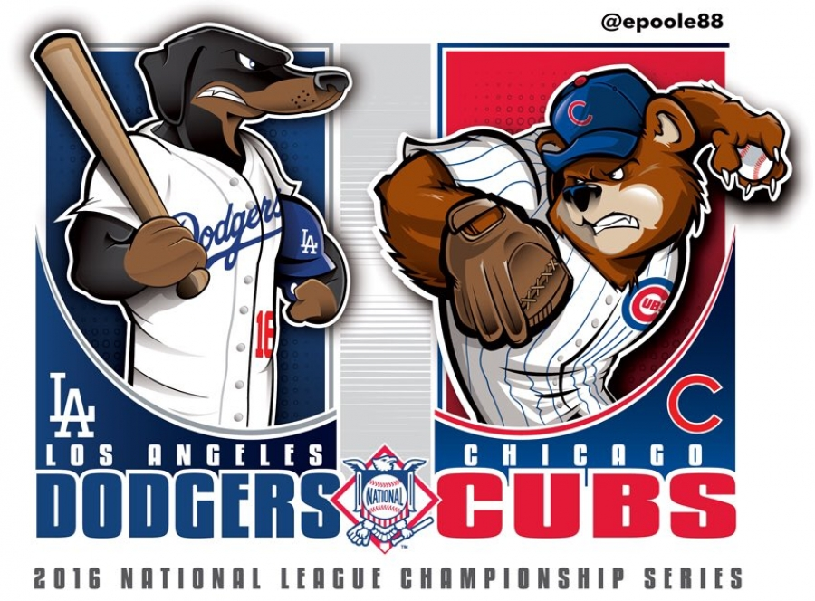 Postseason 2016. NLCS. Chicago Cubs @ Los Angeles Dodgers. Game 5