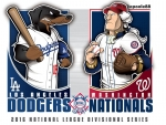 Postseason 2016. NLDS. Washington Nationals @ Los Angeles Dodgers. Game 3