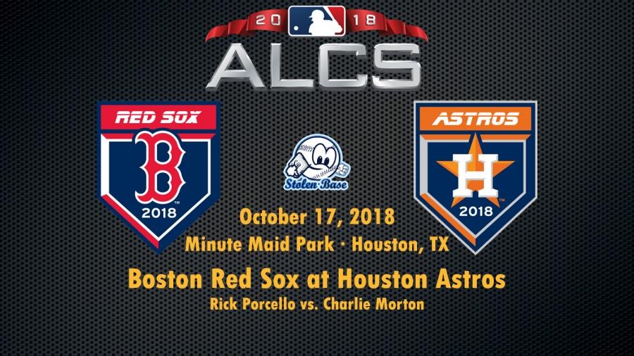 Постсизон-2018. ALCS. Хьюстон Астрос - Бостон Ред Сокс. Превью 4-ой игры серии